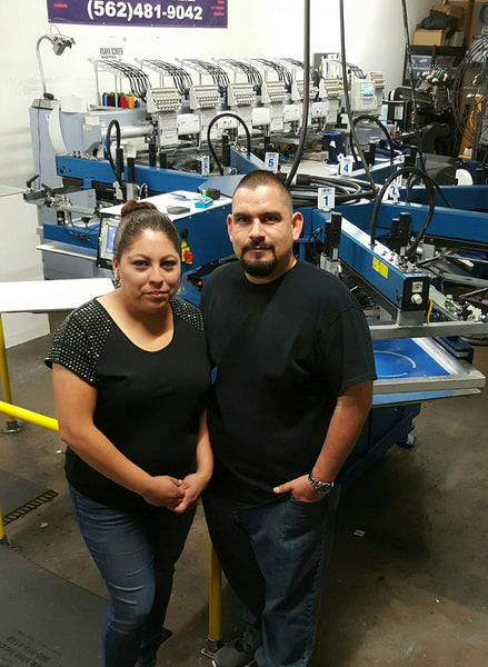 Anaya Screenprinting, Long Beach, California