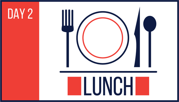 12:00 - 1:30 Lunch