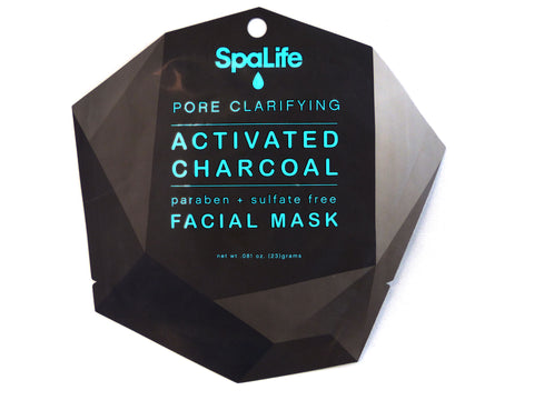 Pore Clarifying Lump of Coal Activated Charcoal Mask