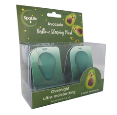 Avocado Bedtime Sleeping Mask - 4 Pack