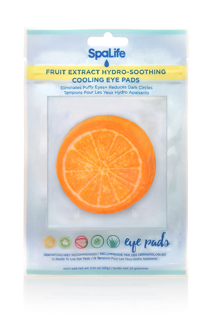 Hydro Soothing Cooling Eye Pads Orange - 6 Treatments