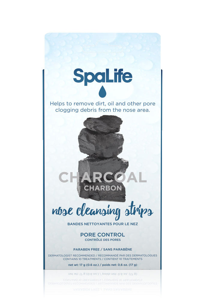 Charcoal Pore Control Nose Cleansing Strips 10 Pack