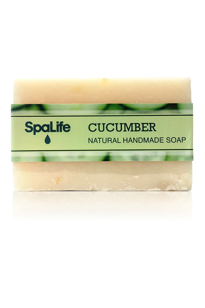 Spa Life Handmade All Natural Soap - Cucumber