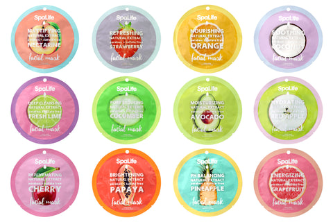 Fabulous Fruits - Total Mask Collection -  Full Gift Set of 12