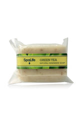 Green Tea Soap with Loofah Body Scrubber
