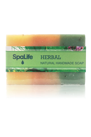 Spa Life Handmade All Natural Soap - Herbal