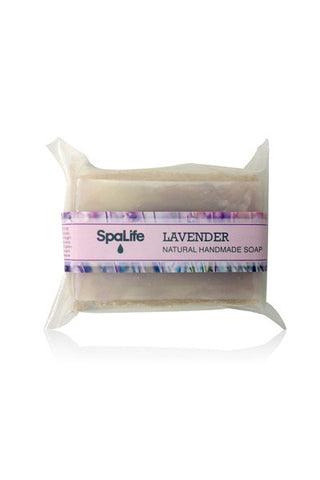 Lavender Soap with Loofah Body Scrubber