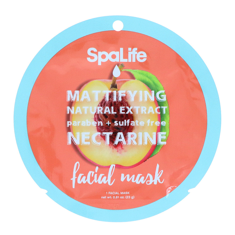 Mattifying Nectarine Natural Extract Facial Mask