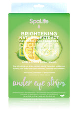 Brightening Cucumber and Lemon Under Eye Treatment 12 Pack