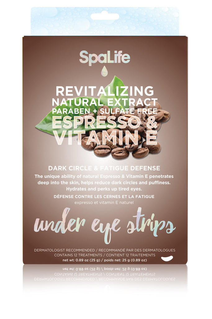 Espresso and Vitamin E Under Eye Treatment 12 Pack