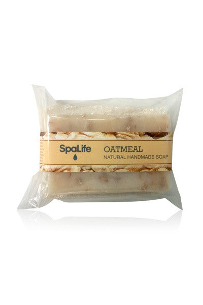 Oatmeal Soap with Loofah Body Scrubber