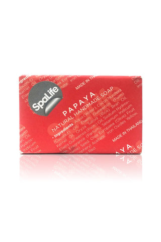 Spa Life Handmade All Natural Newspaper Soap - Papaya