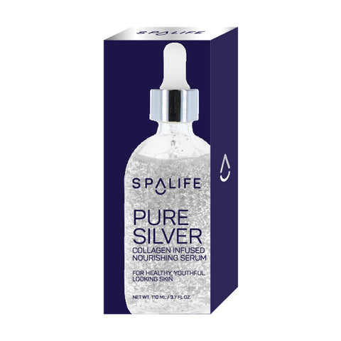 NEW! Pure Silver Collagen Infused Nourishing Serum