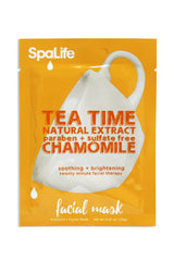 Natural Chamomile Tea Time Facial Masks