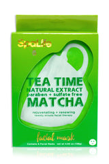 Natural Matcha Tea Time Facial Masks