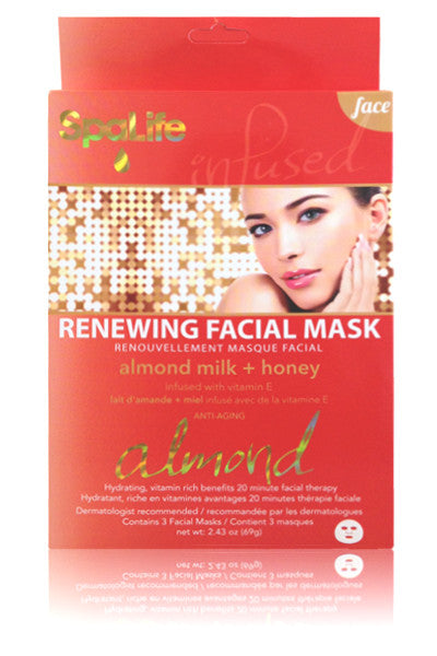 Renewing Facial Mask (Almond Milk and Honey)