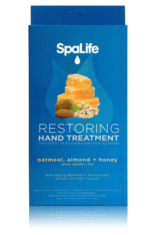 Restoring Hand Treatment Oatmeal, Almond, and Honey 2 Pack