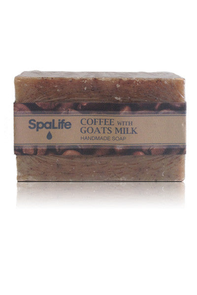 Spa Life Handmade All Natural Soap - Goat Milk and Coffee