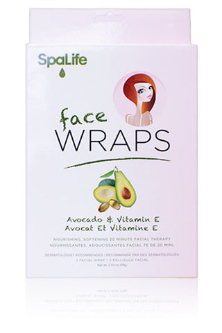 Avocado and Vitamin E Hydrating Facial Mask 3 Pack