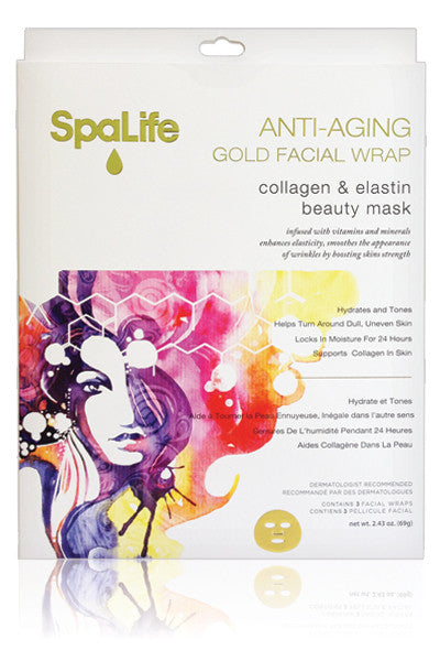 Anti-Aging Gold Facial Mask 3 Pack