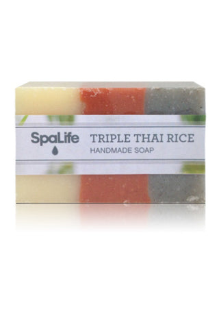 Spa Life Handmade All Natural Soap - Triple Thai Rice