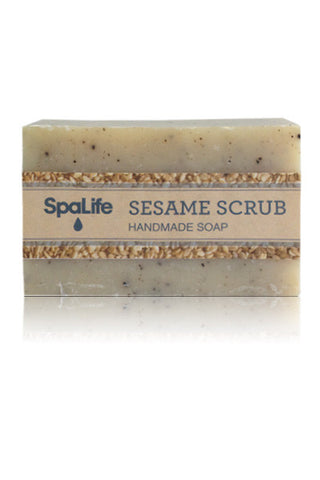 Spa Life Handmade All Natural Soap - Sesame Scrub