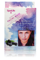 Blueberry and Acai Berry Hydrating Facial Mask 3 Pack