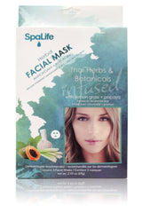 Thai Herb & Botanicals Herbal Facial Mask (Lemongrass & Papaya) 3 Pack