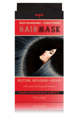 Deep Nourishing & Conditioning Hair Mask (Coconut Oil, Honey and Vitamins)