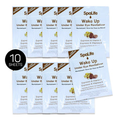Wake Up Under Eye Strips Espresso + Vitamin E - 10 Pack