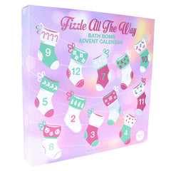 """Fizzle All The Way"" Bath Bomb Advent Calendar"