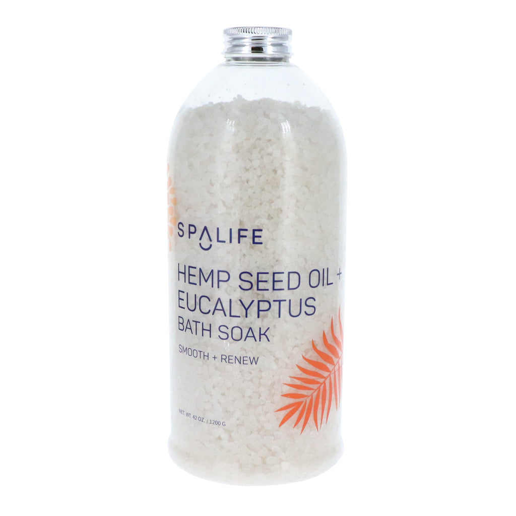 NEW! Hemp Seed Oil + Eucalyptus Bath Soak