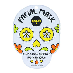 Illuminating Sugar Skull Facial Mask - Infused with Vitamin C + Calendula