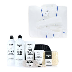 Men's Grooming Gift Set Bundle -With BONUS Bath Robe! | Father's Day Sale