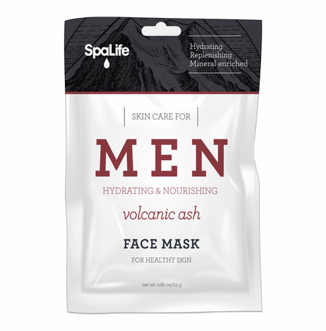 Men's Volcanic Ash Facial Mask