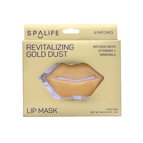 Revitalizing Gold Dust Lip Mask - 6 Pack