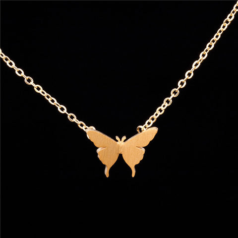 Elegant Butterfly Pendant Necklace