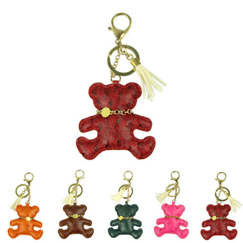 Novelty Bear Keychain and Bag Accessory
