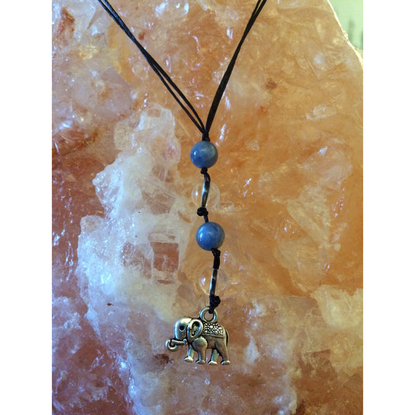 Clear Quartz and Blue Kyanite Car/ Door Hanger - Gifting a Gift of Peace