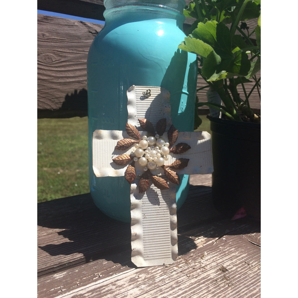Tin Cross - Gifting a Gift of Peace