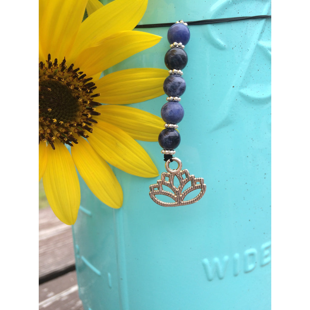 Sodalite Lotus Door Hanger - Gifting a Gift of Peace