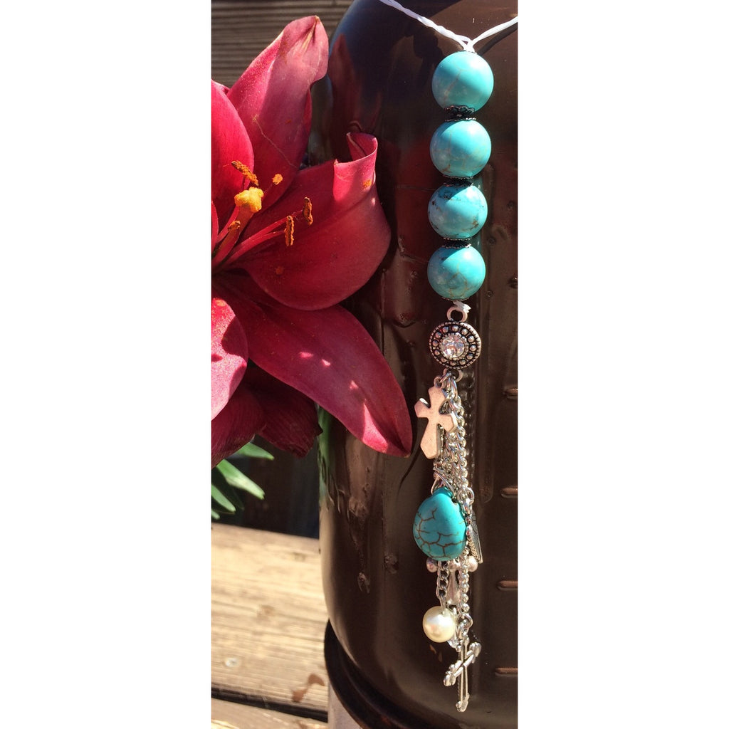 Howlite Door Hanger - Gifting a Gift of Peace