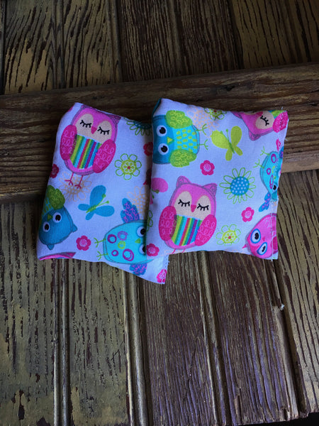 Kids Owl Rice Bag - Gifting a Gift of Peace