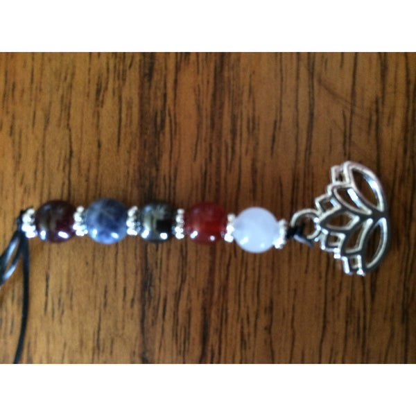 Multiple Crystal Dog Collar Clip - Gifting a Gift of Peace