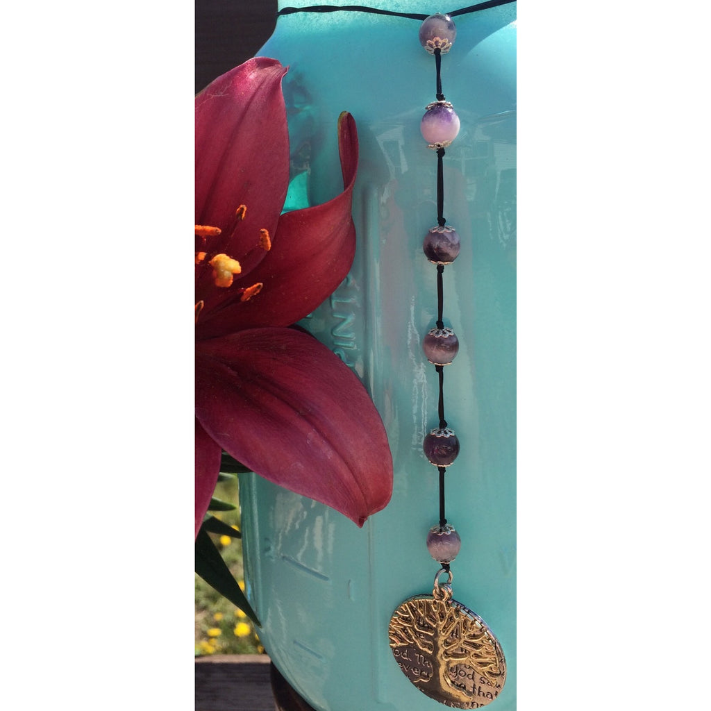 Amethyst Tree of Life Door Hanger - Gifting a Gift of Peace