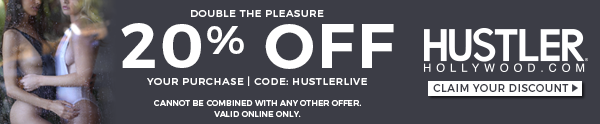 20% off Your Purchase at HUSTLERHollywood.com