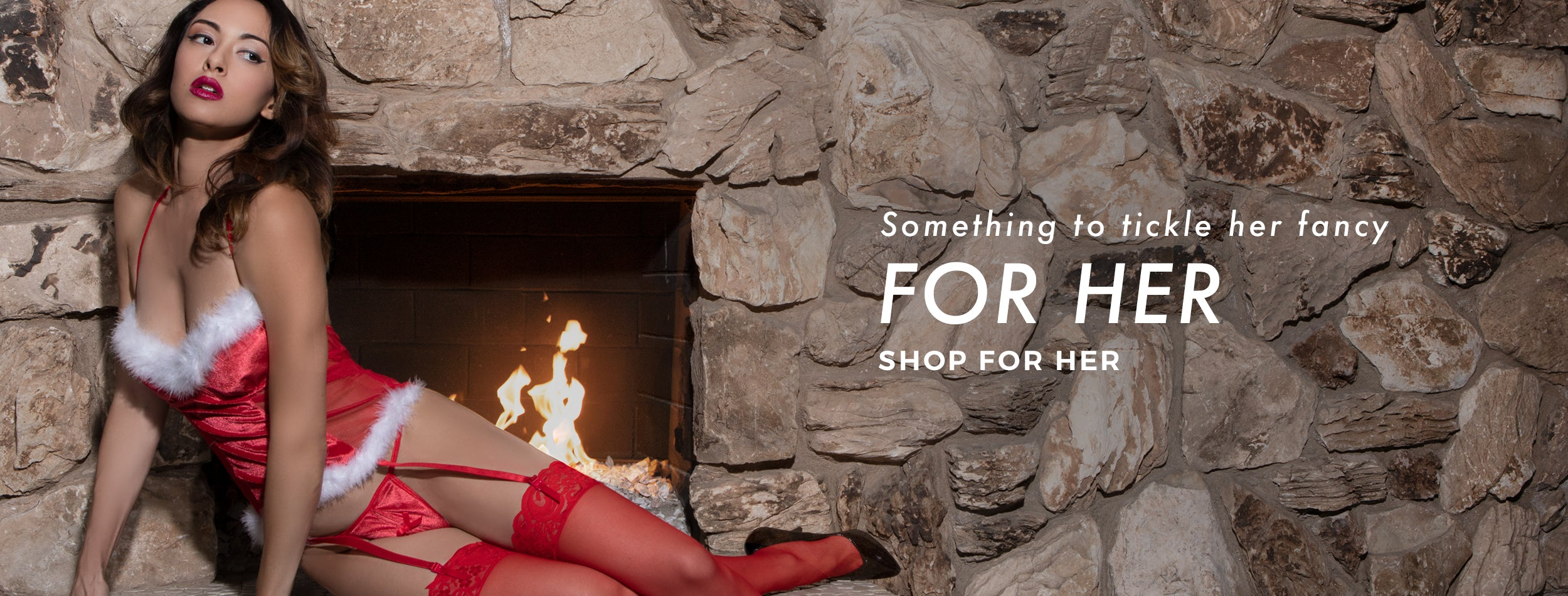 Shop Sexy Hoilday Gifts for her at hustler Hollywood