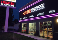 Pussy hustler store sunset strip like that squirting