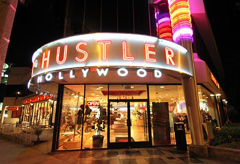 Hustler Hollywood, Sunset Blvd.