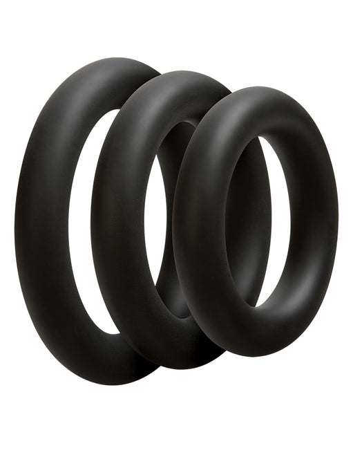 Optimale by Doc Johnson Thick Cockring Set